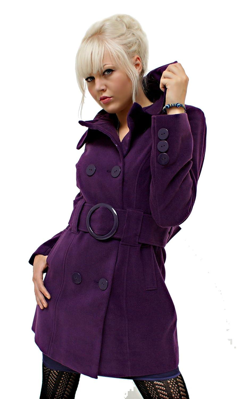 Trendiger Kurzmantel Purple (881) jetzt bestellen