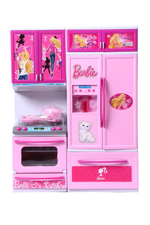 Barbie Kitchen Furniture Buy Her Home Barbie 3 Set Beautiful Vogue Kitchen Online At Low