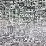 Little City Privacy Window Film - Large - 4 ft x 7 ft