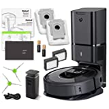 iRobot Roomba i7+ (7550) Robot Vacuum Bundle with Automatic Dirt Disposal- Wi-Fi Connected, Smart Mapping, Ideal for Pet Hair (+1 Extra Edge-Sweeping Brush, 1 Extra Filter) (Tamaño: Roomba i7+ (With Automatic Dirt Disposal))