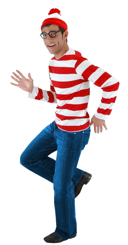 Where Is Waldo Costume For Guys