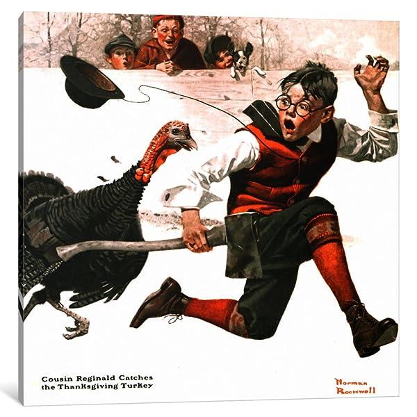 Cousin Reginald Catches the Thanksgiving Turkey