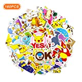 160 Pcs Pokemon Stickers Anime Stickers (Anime 4)