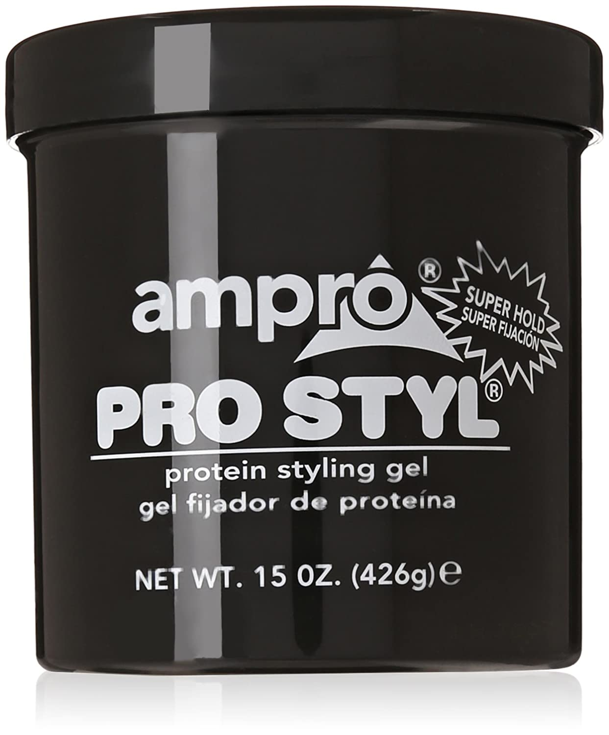 AMPRO STYLING GEL SUPER HOLD 6 Z(Pack of1)