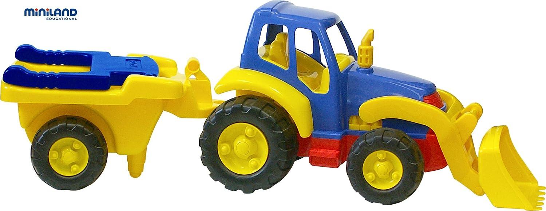 Riesen Traktor mit Anhänger