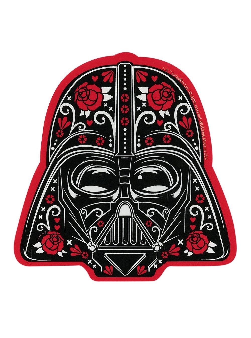 Darth Vader Sugar Skull Sticker