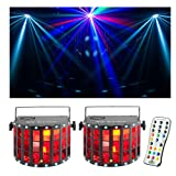 Chauvet DJ Kinta FX RGBW LED Derby/Strobe Multi-Effect Fixture 2-Pack with IRC Remote Bundle
