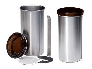 Chg 9826-60 - Botes para monodosis de café, 2 unidades, 16.5 centímetros x 8,5 centímetros   Revisión del cliente y la descripción más