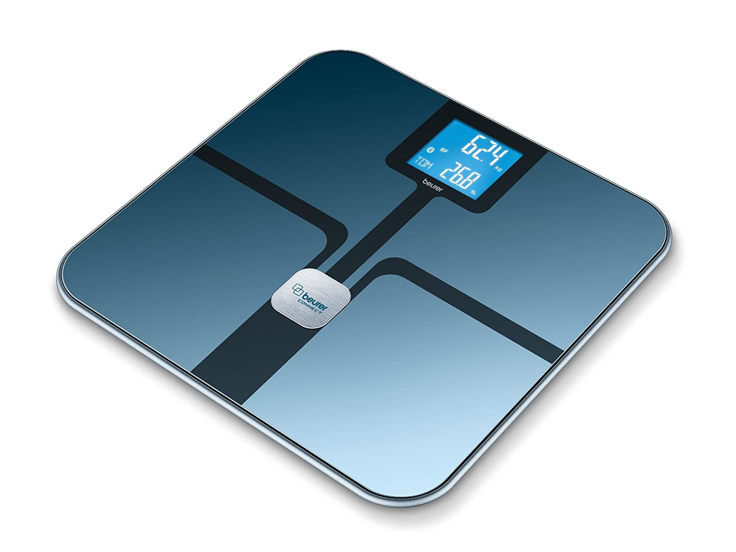 Beurer BF800BLK Bluetooth Smart Diagnostic Bathroom Scales