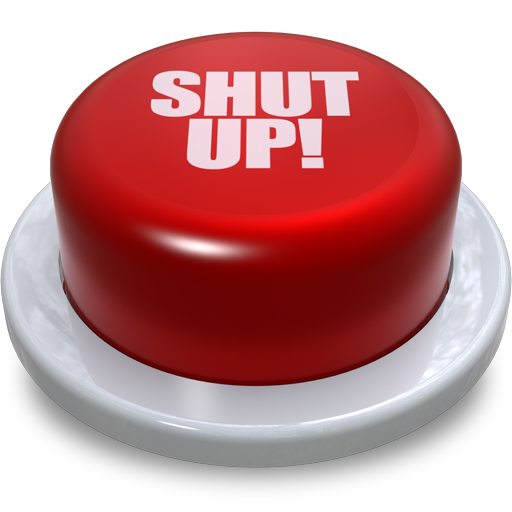 Shut Up Button! image