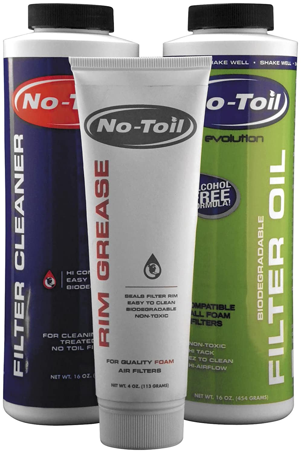 No Toil EVO Filter Oil/Cleaner/Rim Grease EV109 no hurting rim tyre wrench