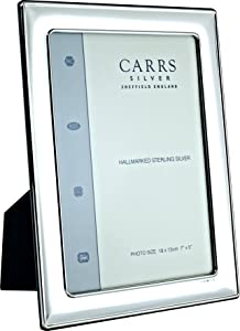 Carrs Silver Plain Lightweight Photo Frame   10x8 Inch       reviews and more information