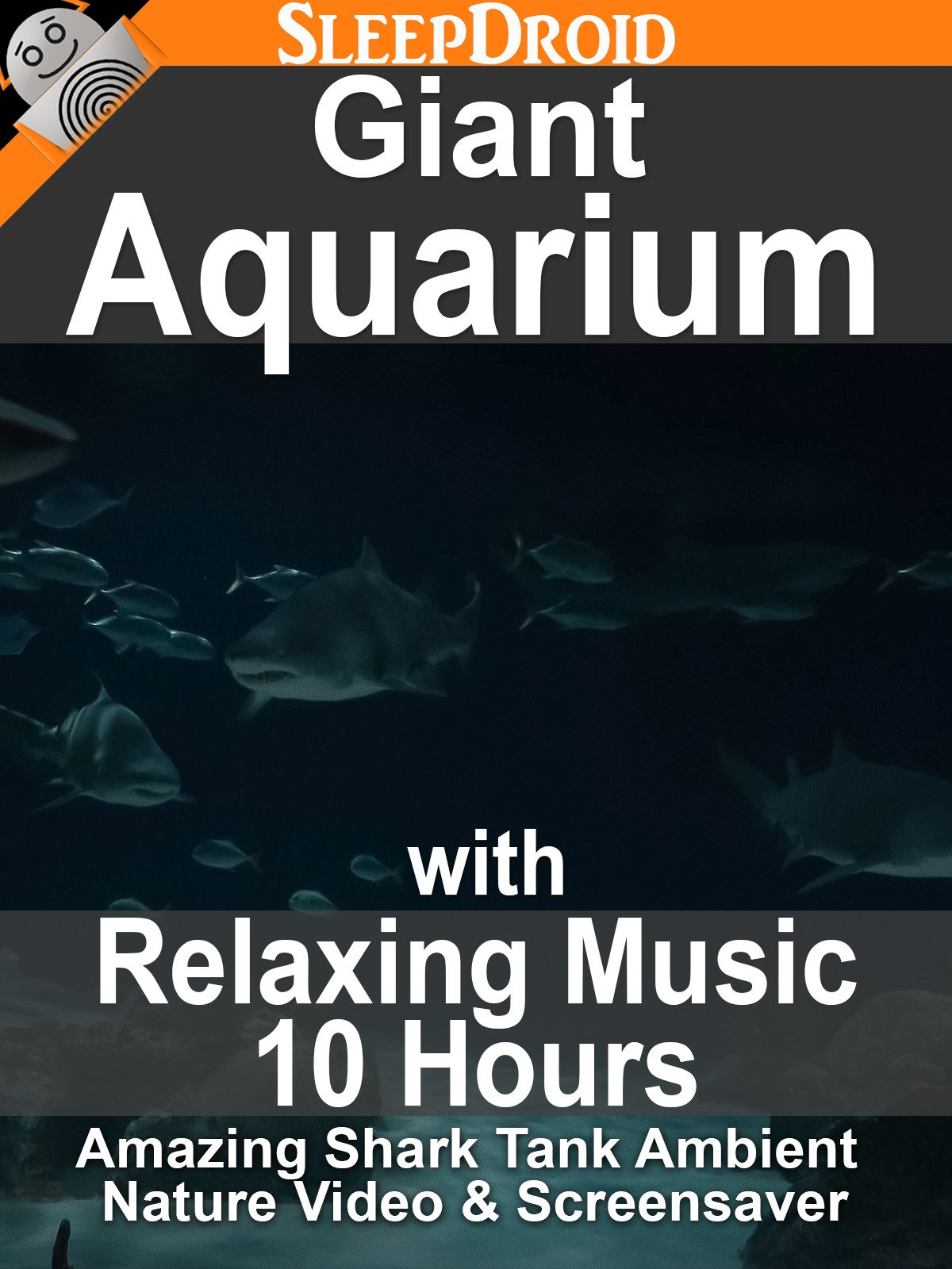 Giant Aquarium with Relaxing Music (10 hours): Amazing Shark Tank Ambient Nature Video & Screensaver on Amazon Prime Instant Video UK