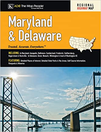 MD/De State Road Atlas (American Map)