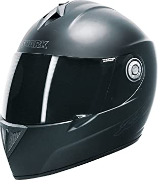 SHARK RSI Prime, casco moto in carbonio/vetroresina, opaco nero, taglia M