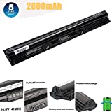 M5Y1k Laptop Battery 14.8V 41WH For DELL Inspiron 3451 3551 5558 5758 M5Y1K Vostro 3458 3558 Inspiron 14 15 3000 Series 1KFH3 WKRJ2 GXVJ3 HD4J0 Laptop Battery (Color: black, Tamaño: 4 Cell)