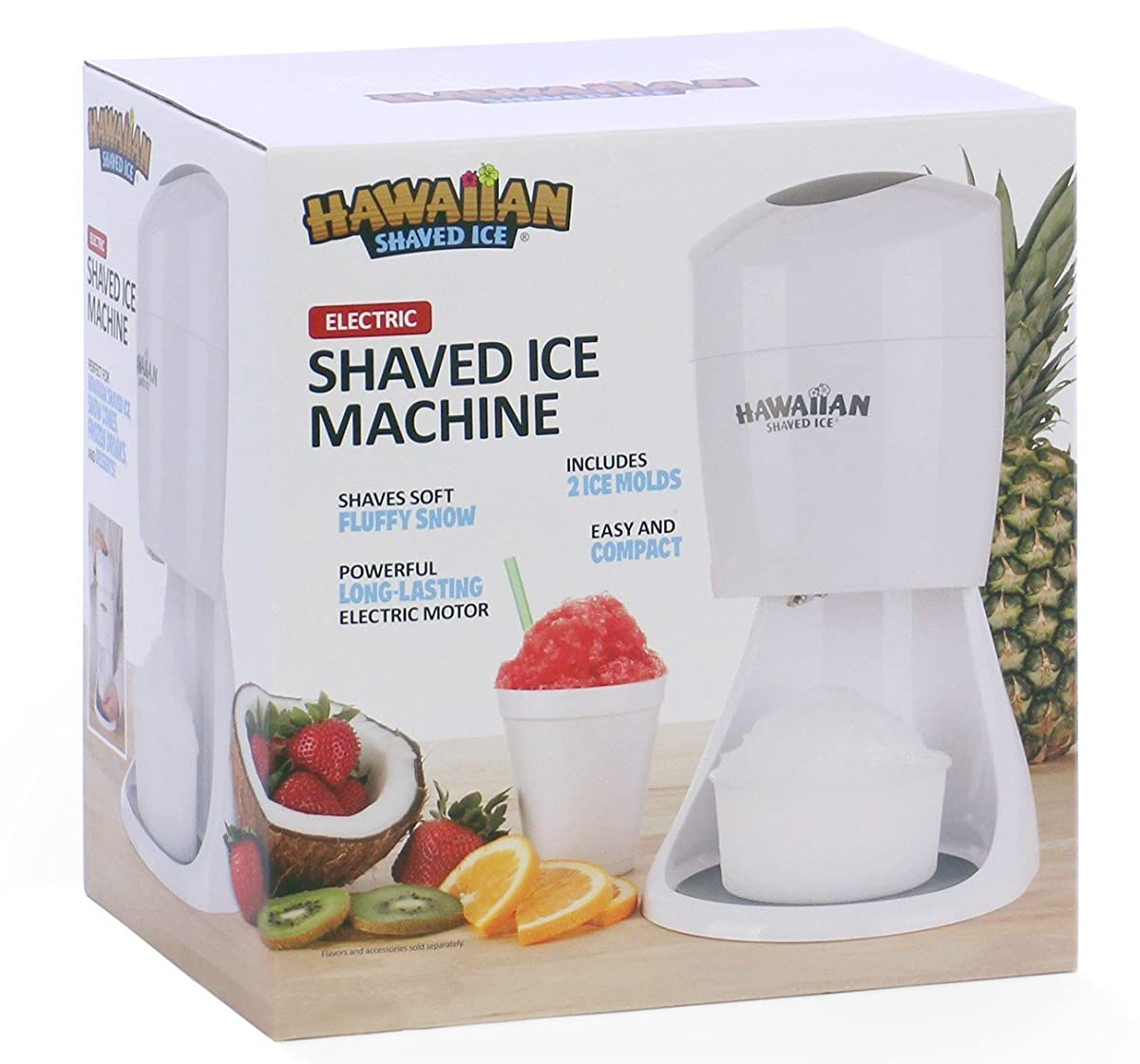 Hawaiian Shaved Ice S900A Electric Shaved Ice Machine
