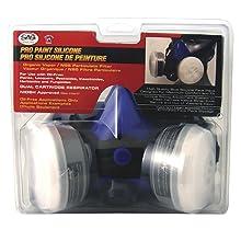 SAS Safety 2761-50 Professional Blue Half Mask Respirator, Large
