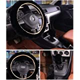 3 Pcs 1 Set Winter Warm Steering Wheel Cover with Handrake Cover & Gear Shift Cover for 14.96