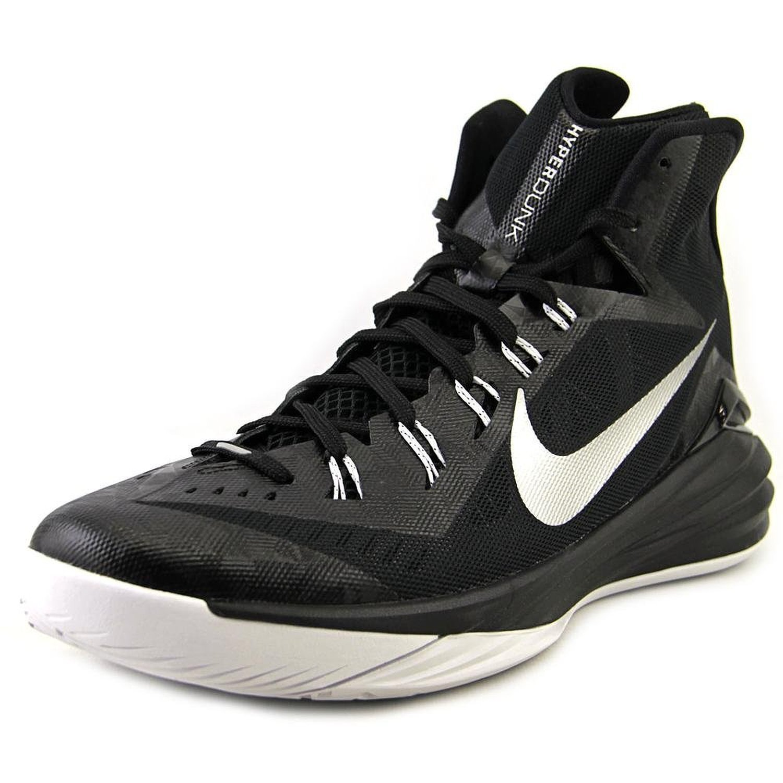 Nike Hyperdunk Mens Basketball Shoes White Metallic Silver Black