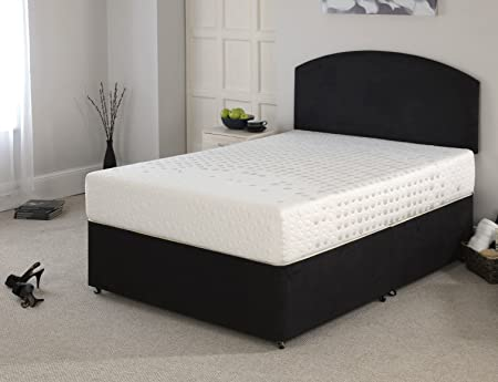 Synergy 5000 Castellated 25cm Deep Mattress with 5cm i-plus Memory Foam - 37° Cover Double (4'6'' ft) Size