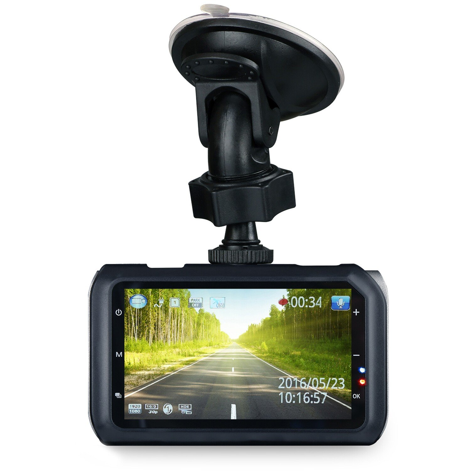 "Z-Edge 3"" Screen 2K Ultra Full HD1296P 2560x1080 Car Dash Cam"