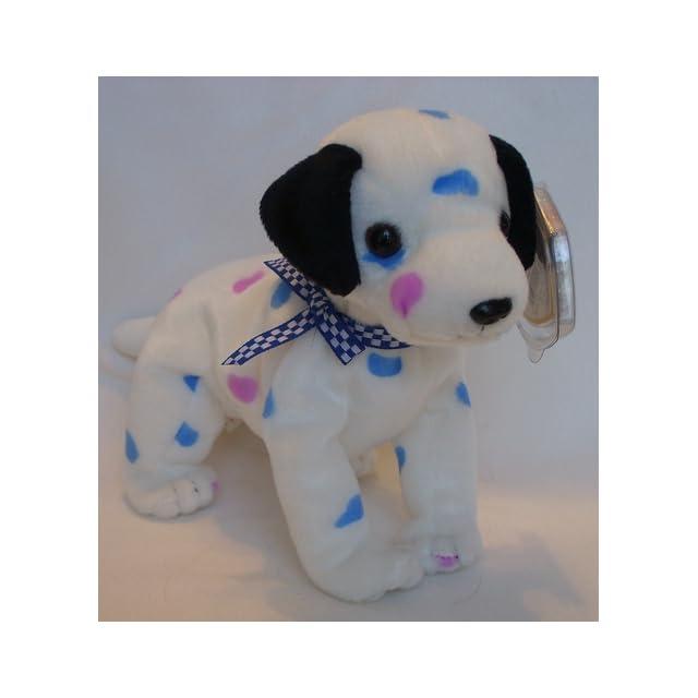 b9c9e3be2da TY Beanie Baby DIZZY the Dalmatian (black spots