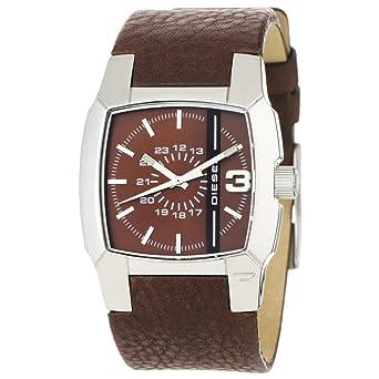 Diesel dz1090 montrehomme quartzanalogique - Montre diesel bracelet cuir marron ...