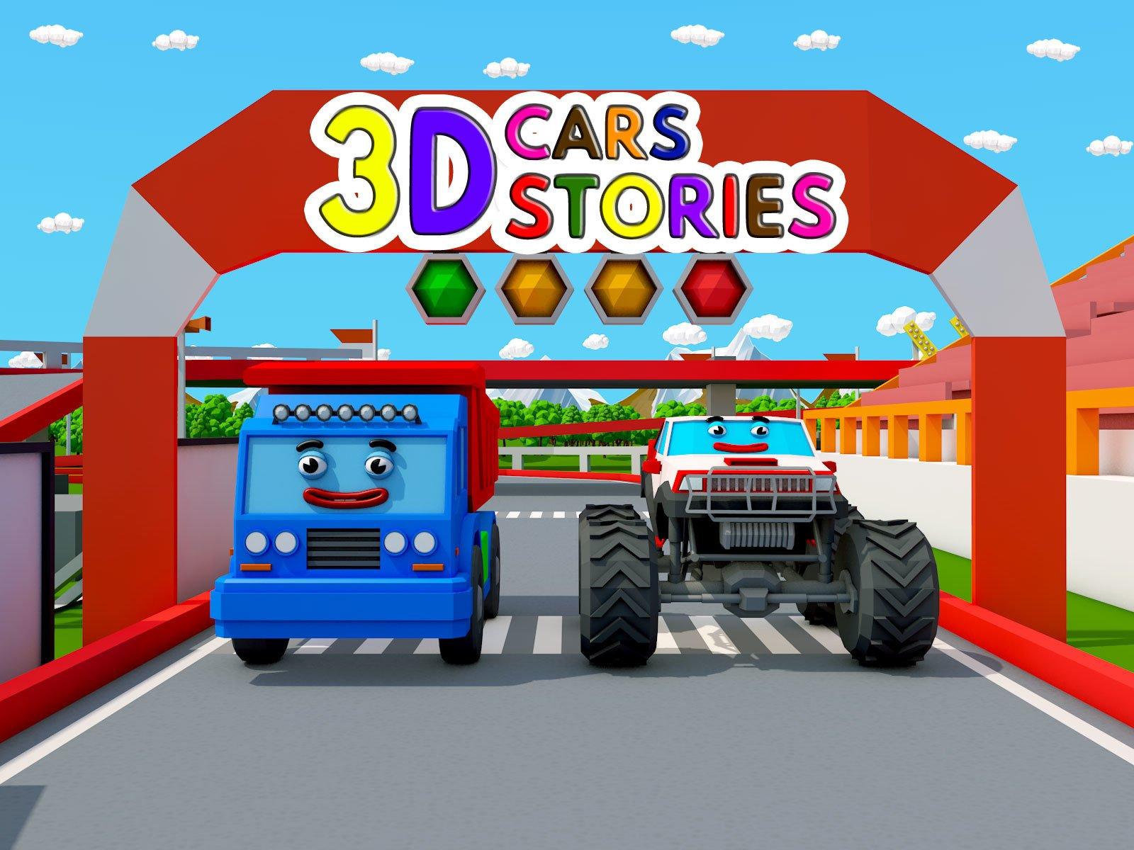 3D Cars Stories - Season 4
