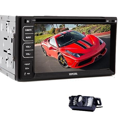 Date navigation GPS de voiture radio stšŠršŠo 6.2 pouces voiture lecteur dvd vidšŠo tactile numšŠrique MP4 Bluetooth 3.1 MP3 FM AM SD USB Mic moniteur avec camšŠra de recul gratuit