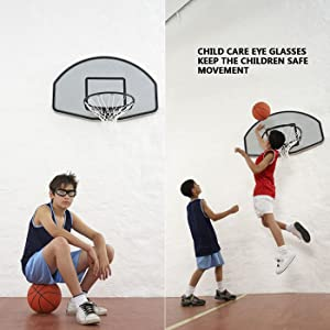 GGBuy Outdoor Sports Basketball Glasses with Adjustable