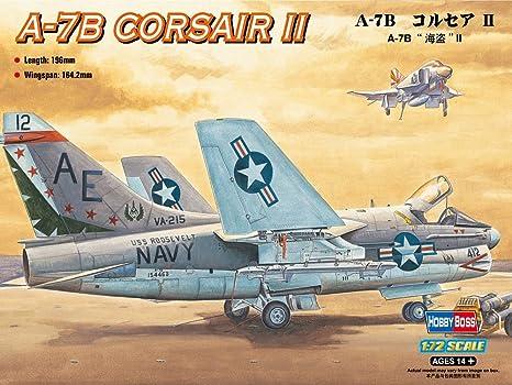 Hobbyboss 87202 A-7B Corsair II 1:72 Plastic Kit