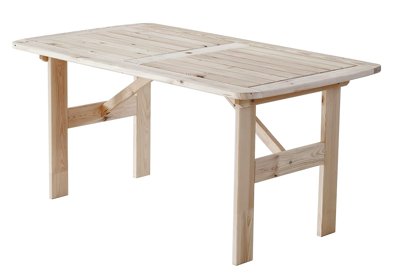 Gartentisch Esstisch Hanko MAXI Sitzgruppe Essgruppe natur ca 140 x 80 cm jetzt kaufen