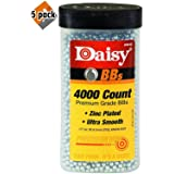 Daisy Ammunition and CO2 40 4000 ct BB Bottle - 5 Pack (Color: 5 Pack(Silver))