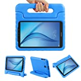 Color Our Life Samsung Galaxy Tab E 9.6 Kiddie Case-Shock Proof Light Weight Convertible Handle Stand Cover for Samsung Galaxy Tab E 9.6 Inch Tablet, Blue (Color: Blue, Tamaño: Tab E 9.6)