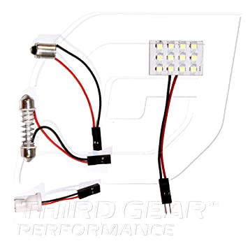 Dodge Journey 55w Super White Xenon HID Low Dip//Canbus LED Side Light Bulbs Set