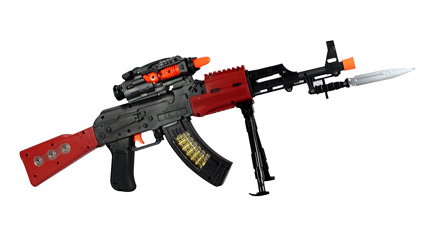 Amazon: Planet Of Toys AK-47 Flash Gun @ Rs.499/- (71% OFF)