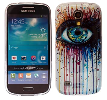 2D- Samsung Galaxy S4 mini Vinatage Shabby Chic Floral Fleurs ...
