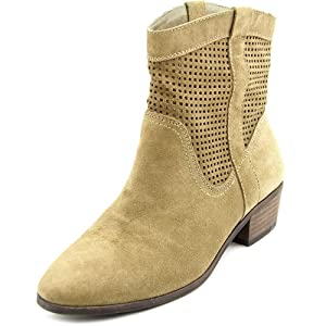 Sole Society Tashi Women US 6.5 Brown Ankle Boot