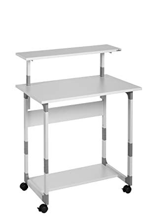 Durable 371810 System Computer Trolley 80 VH Grey