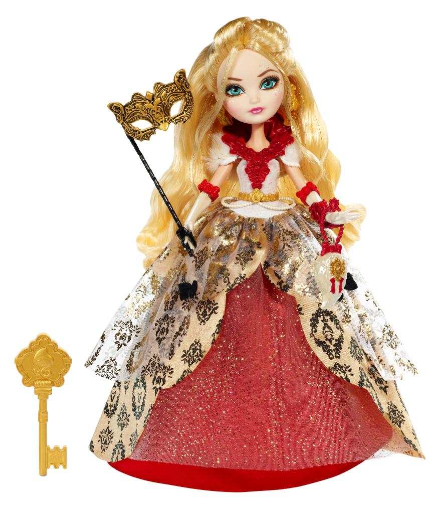 Amazon.com: Ever After High Thronecoming Apple White Doll ...
