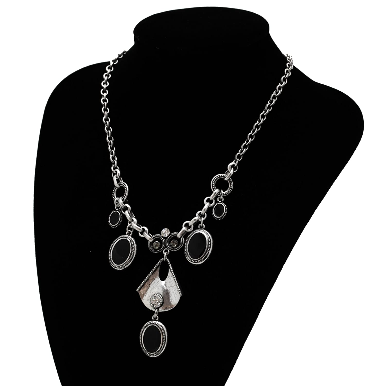 Damenkette Halskette mit Anhängern in Silber jetzt bestellen