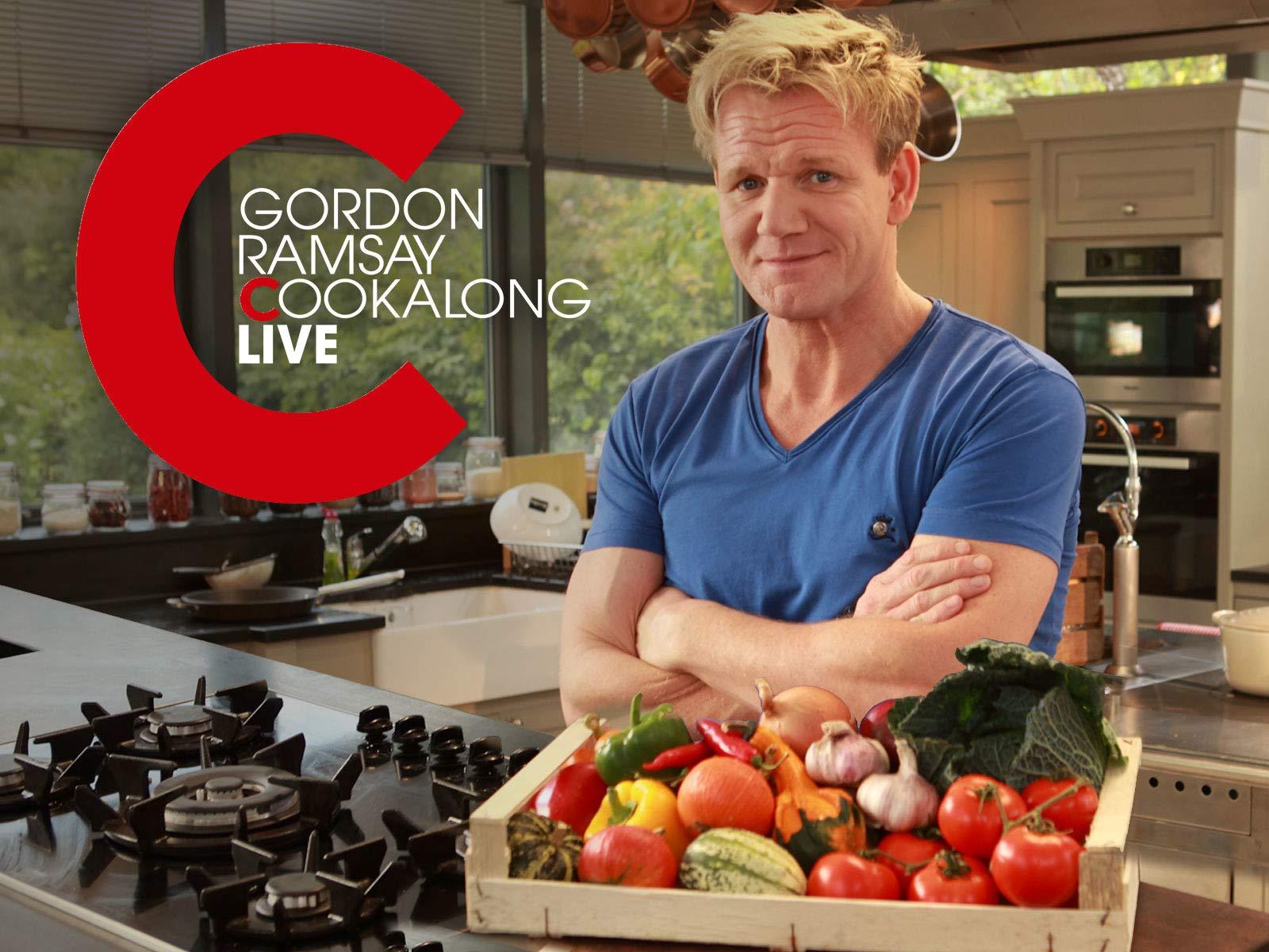 Gordon Ramsay: Cookalong Live on Amazon Prime Video UK