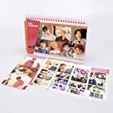 GOT7 7 for 7 Calendar 2018-2019 with Kpop Mask + 3 Photo Cards Double Sided Photos+ 1 Sticker