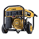 Cat RP7500E Gas Powered Portable Generator with Electric Start - 7500 Running Watts/9375 Starting Watts 490-6491 (Color: Black/Yellow)