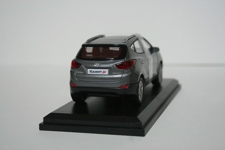 HYUNDAI Collection Miniature car toy 1:38 Diecast car scale Tucson Silver!!KOREA