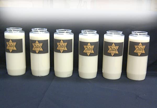 Yom Hashoah Holocaust Memorial Candles