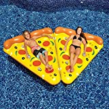 Inflatable Pool Floats - Leisure Giant Pizza Slice - with Air Pump