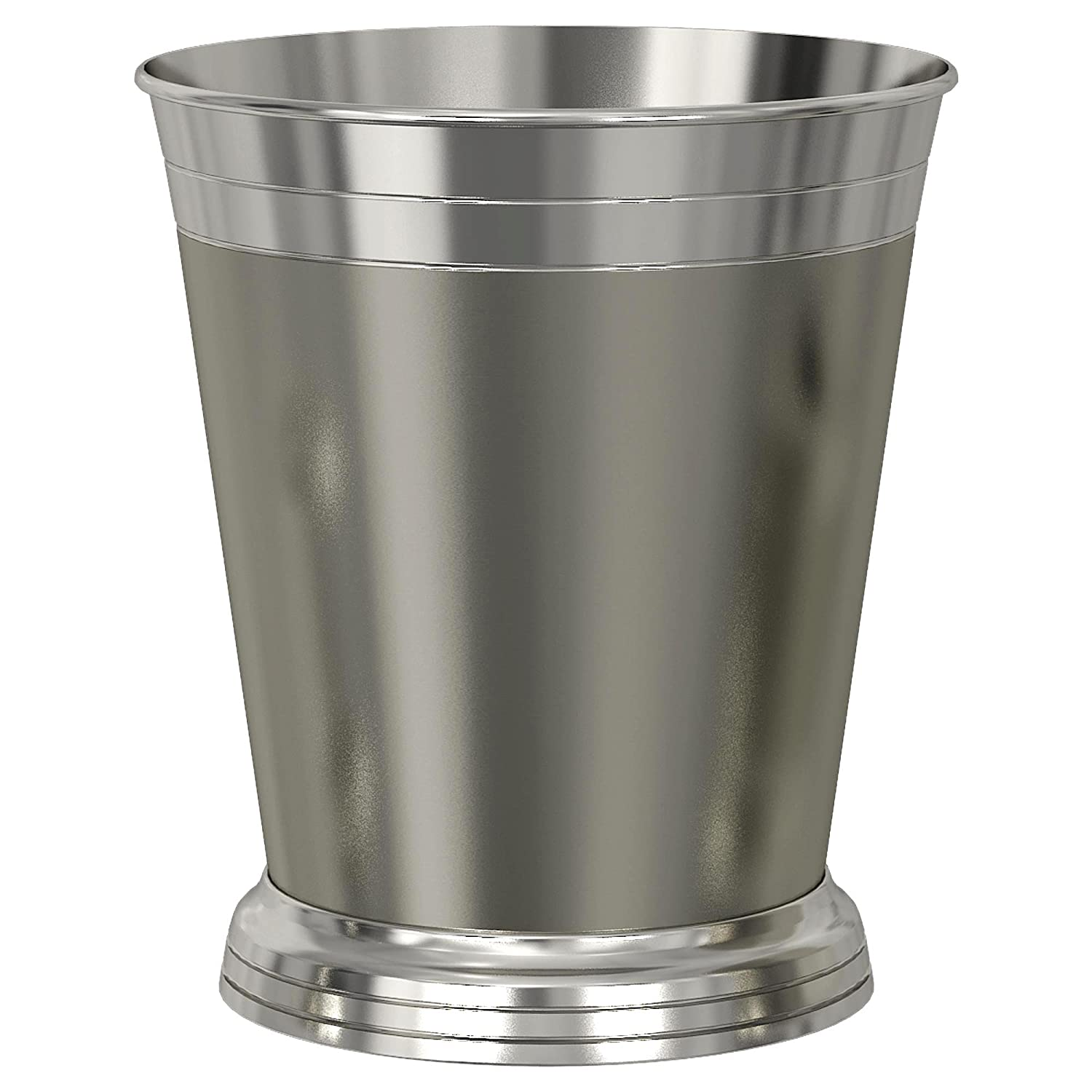 nu steel Lighthouse Matte Shiny Wastebasket