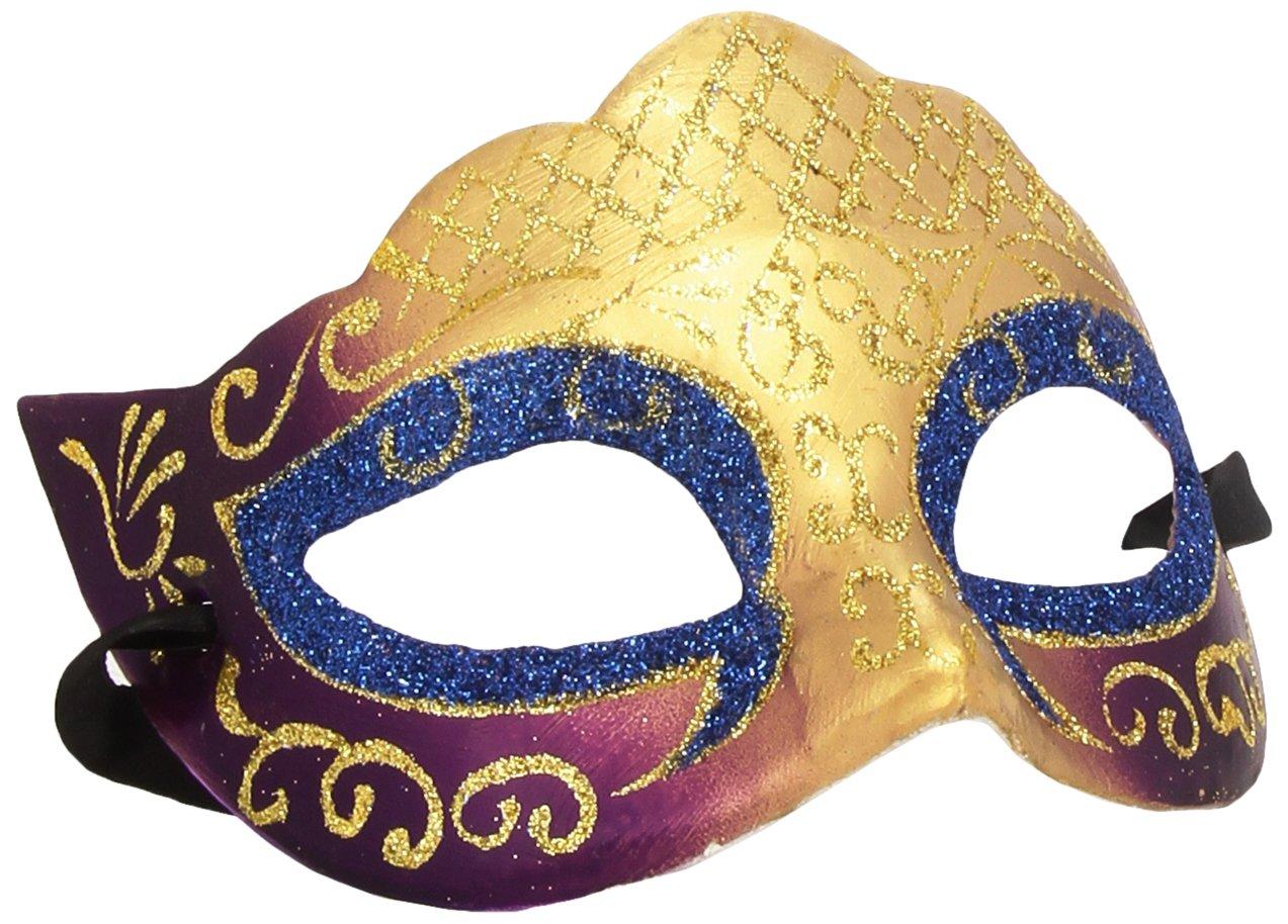 Venetian Colombina Farfalla Glitter Mask (máscara/ careta)   revisión y más información